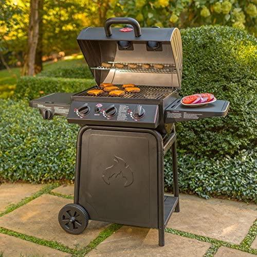 61uNRjyP3eL. AC  - Char-Griller E3001 Grillin' Pro 40,800-BTU Gas Grill, Black