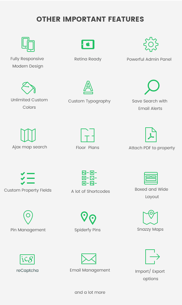 7other features - WpEstate Real Estate WordPress Theme