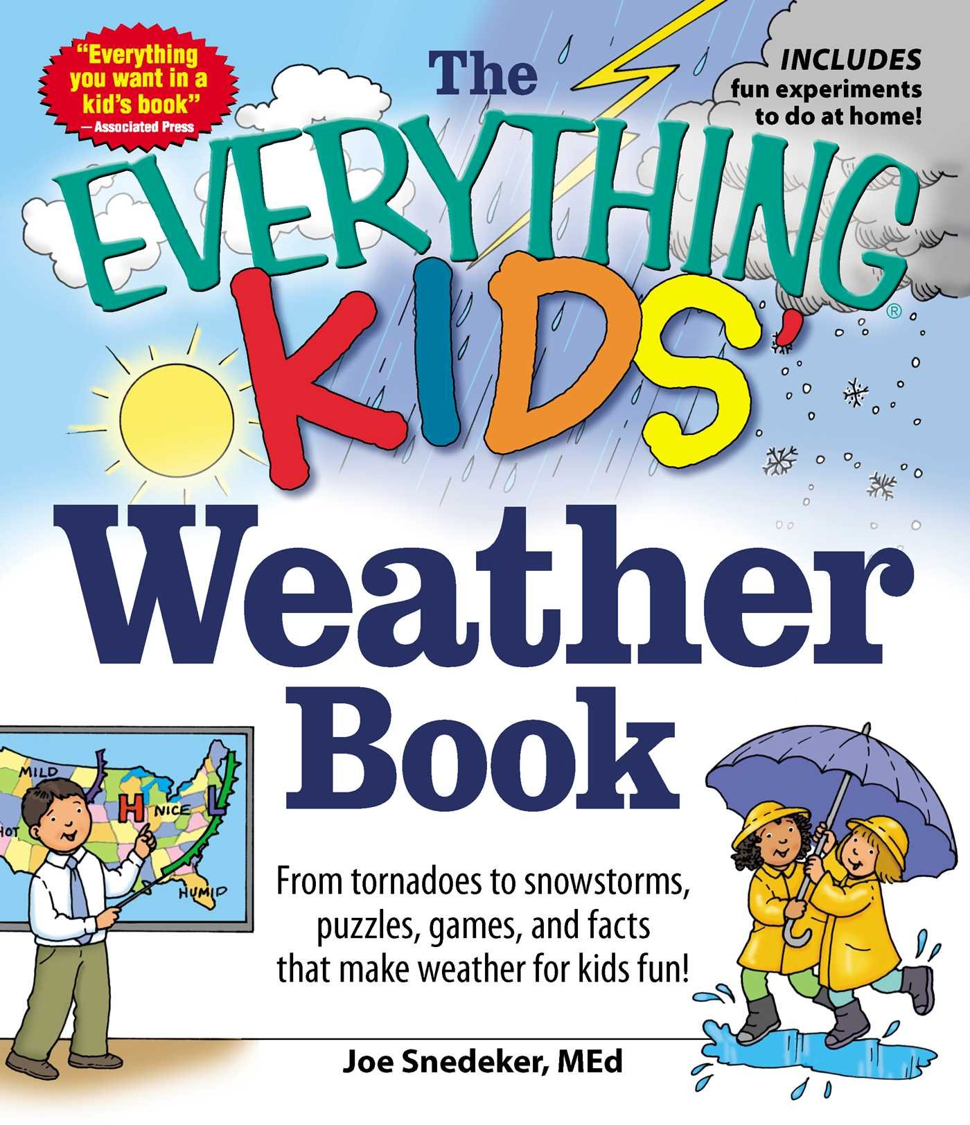 81yeGPdjkKL - The Everything KIDS' Weather Book: From Tornadoes to Snowstorms, Puzzles, Games, and Facts That Make Weather for Kids Fun!