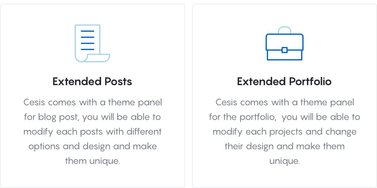 Cesis Core Features 2 - Cesis   Responsive Multi-Purpose WordPress Theme