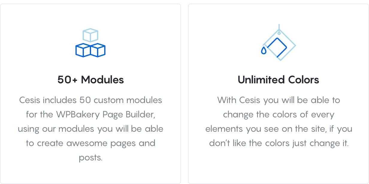 Cesis Core Features 3 - Cesis   Responsive Multi-Purpose WordPress Theme