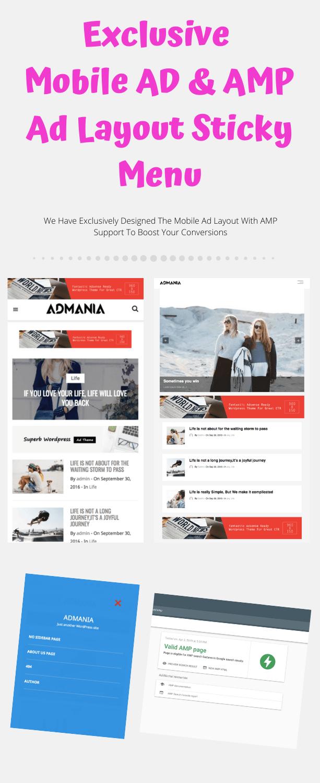 Fea7 min - Admania - Adsense WordPress Theme With Gutenberg Compatibility