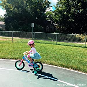 """a40e6133 d27e 443c 9c44 80b756e9f8a4. CR0,0,626,626 PT0 SX300   - JOYSTAR 12"""" 14"""" 16"""" Kids Bike for 2-7 Years Girls 33-53 inch Tall, Girls Bicycle with Training Wheels & Coaster Brake, 85% Assembled, Macarons"""