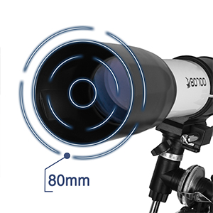 b1f41276 1e12 490a 8192 2b8ba78e3be6.  CR0,0,300,300 PT0 SX300 V1    - Telescopes for Adults, 80mm Aperture and 700mm Focal Length Astronomy Refractor Telescope for Kids and Beginners - with EQ Mount, 2 Eyepieces and Phone Adaptor