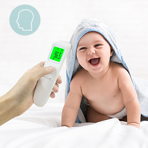 c9dc5df5 fde8 462a 9fae 9506fb1b2867.  CR0,0,300,300 PT0 SX300 V1    - XDX Thermometer for Adults Forehead, No Touch Thermometer with Fever Alarm and Memory Ideal for Babies, Kids, Adults, Indoor Outdoor Medical Use
