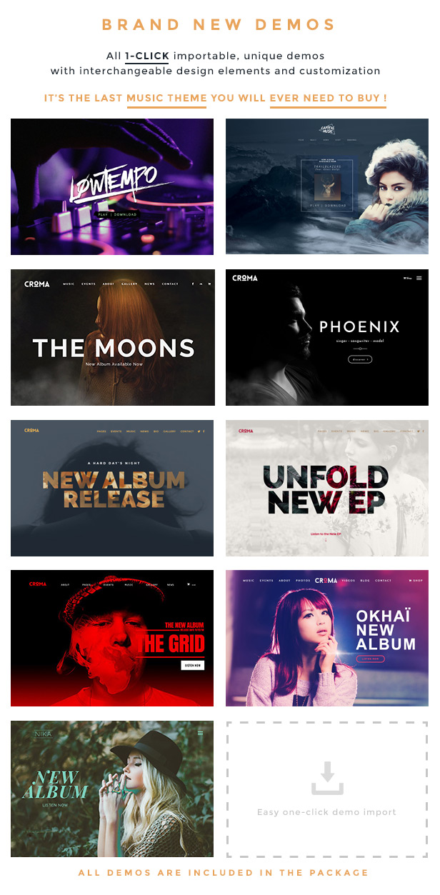 croma choosedemos marketing - Croma - Music WordPress Theme with Ajax and Continuous Playback