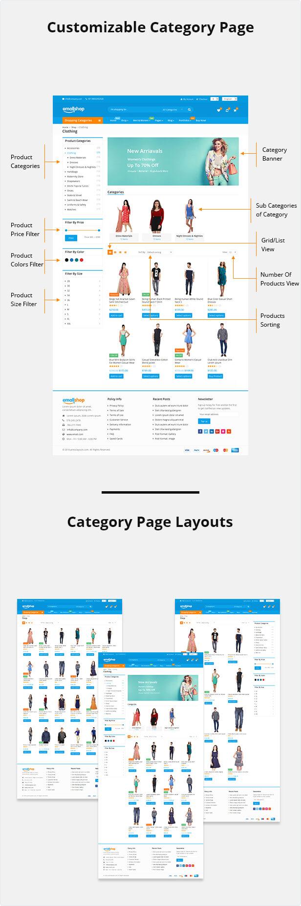 customizable page1 - EmallShop - Responsive WooCommerce WordPress Theme