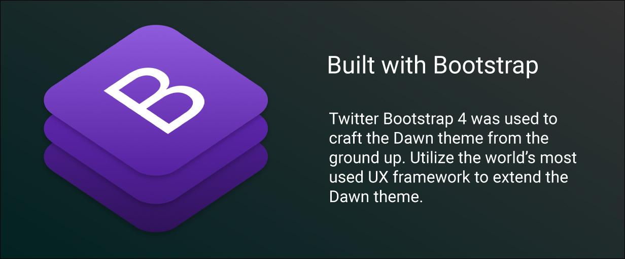 dawn preview bootstrap - Dawn - Multipurpose Responsive Drupal 9 Theme