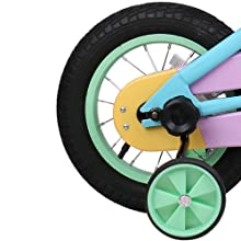 """ec2b49c3 fe9b 424c a0e8 189149a28ee8. CR0,0,500,500 PT0 SX220   - JOYSTAR 12"""" 14"""" 16"""" Kids Bike for 2-7 Years Girls 33-53 inch Tall, Girls Bicycle with Training Wheels & Coaster Brake, 85% Assembled, Macarons"""