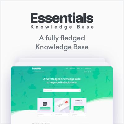 essentials kb - Essentials | Multipurpose WordPress Theme