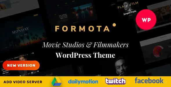 formota preview wp new.  large preview - Formota - Movie Studios & Filmmakers WordPress theme