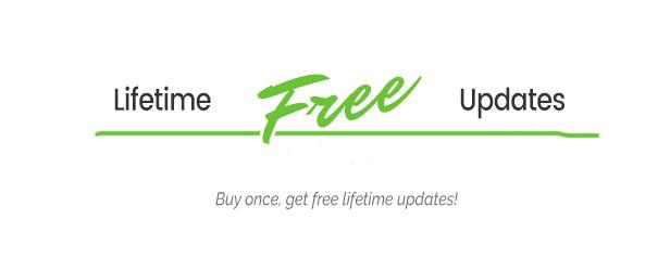free updates - TheSaaS X - Responsive SaaS, Startup & Business WordPress Theme