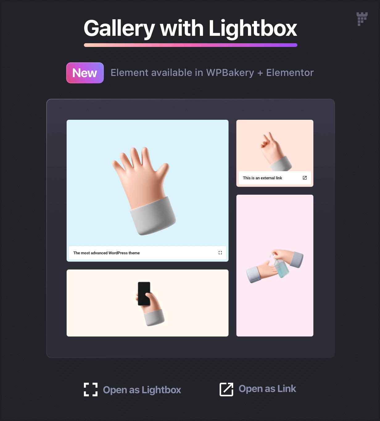 gallery element - Essentials | Multipurpose WordPress Theme