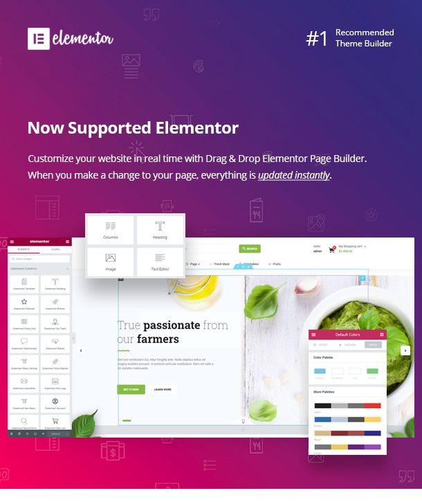 greenmart elementor - GreenMart – Organic & Food WooCommerce WordPress Theme
