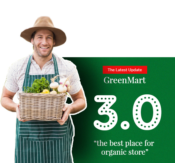greenmart version 3.0 - GreenMart – Organic & Food WooCommerce WordPress Theme