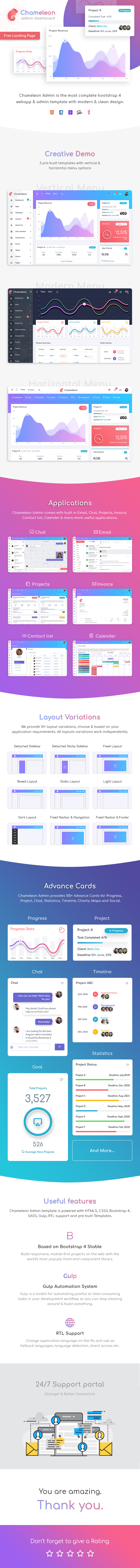 item page - Chameleon Admin - Modern Bootstrap 4 WebApp & Dashboard HTML Template + UI Kit