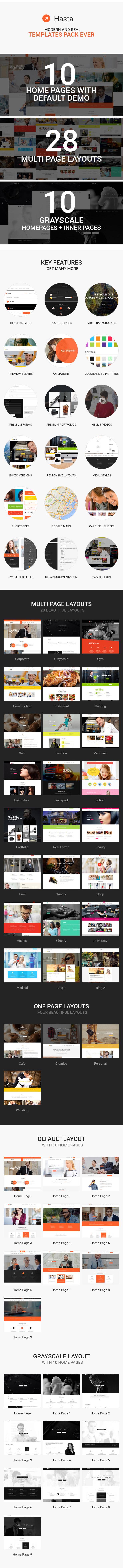 item showcase - Hasta - Responsive Multipurpose HTML5 Template