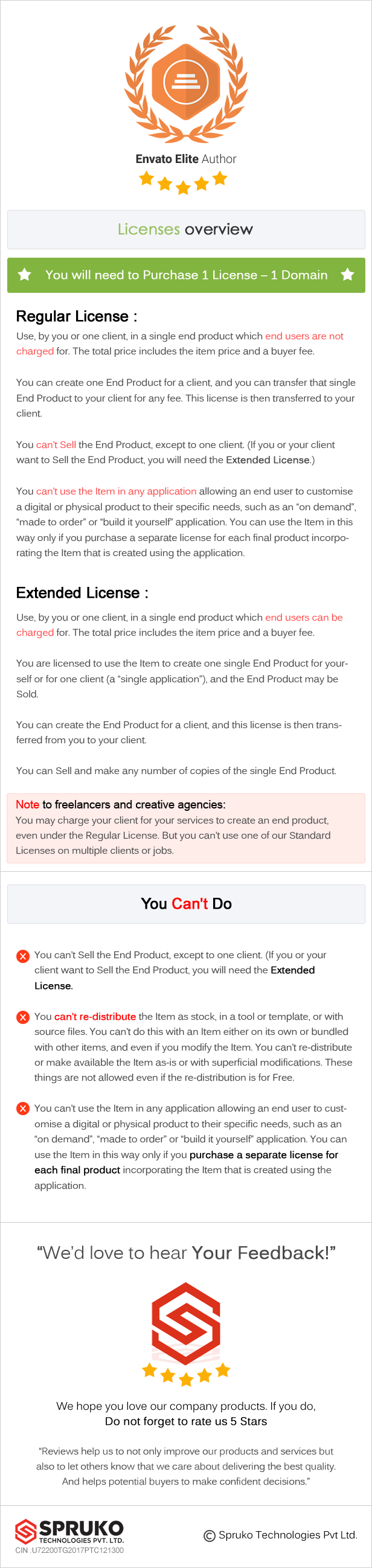 licences - Autolist – Car Dealer and Classifieds HTML Template