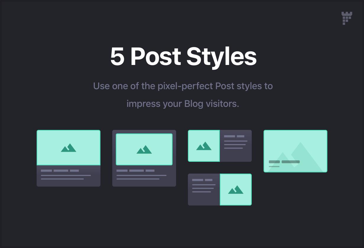 post styles - Essentials | Multipurpose WordPress Theme