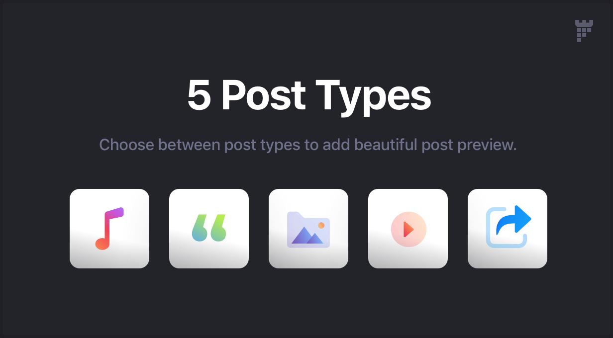 post types - Essentials | Multipurpose WordPress Theme