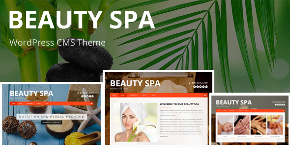 preview1 img.  large preview - Beauty SPA - WordPress  CMS Theme