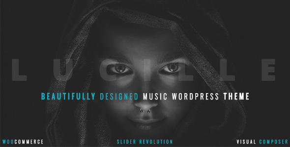preview 590 300.  large preview - Lucille - Music WordPress Theme