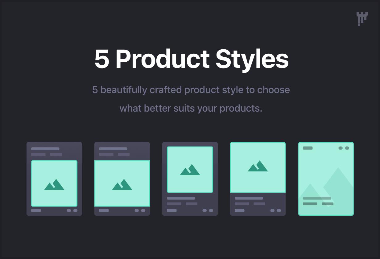 product styles - Essentials | Multipurpose WordPress Theme