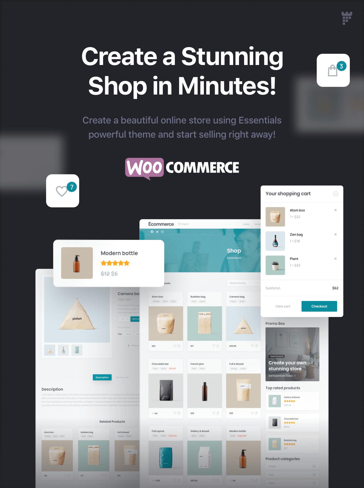 shop main - Essentials | Multipurpose WordPress Theme