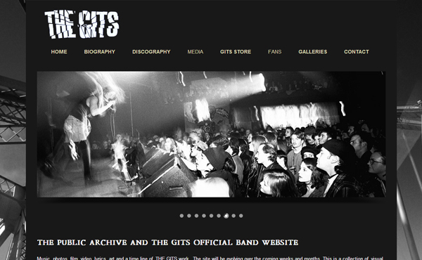 the gits - MusicPress - A Timeless Audio Theme