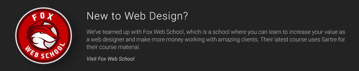 tm profile affiliation fox web school - Sartre - Creative Multipurpose HTML Template