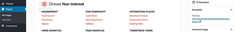 townpress admin 01 thumb - TownPress - Municipality WordPress Theme