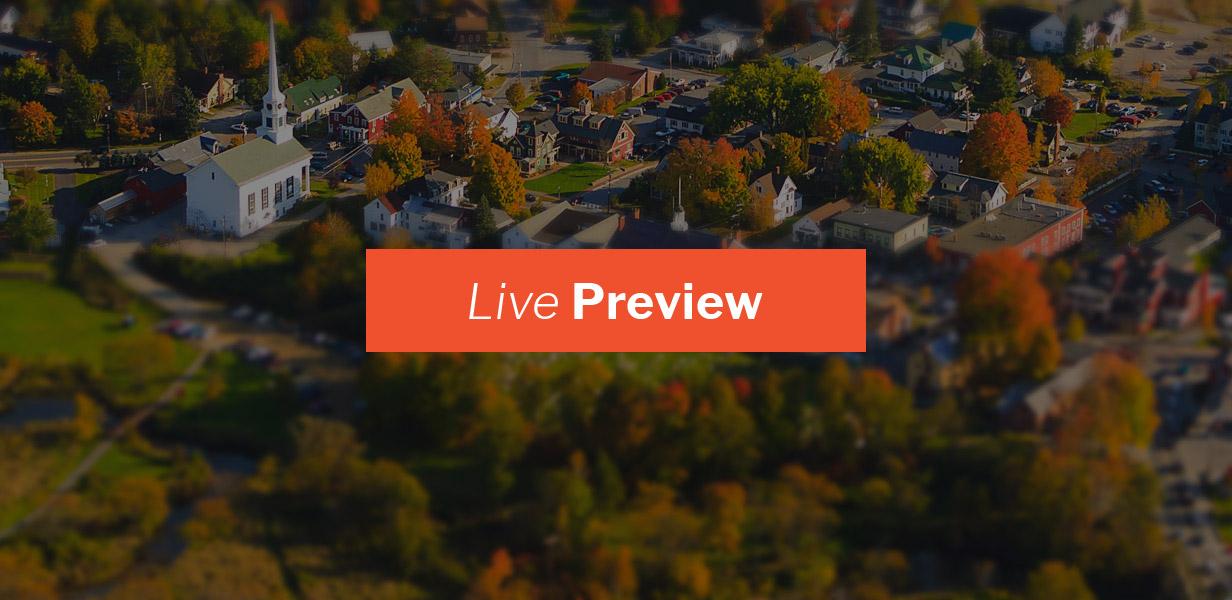 townpress live preview - TownPress - Municipality WordPress Theme