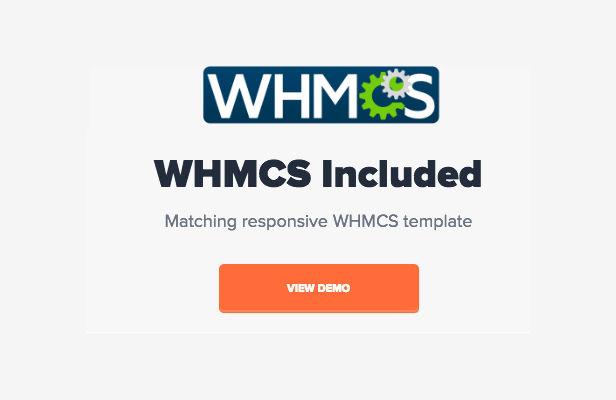 whmcs - NRGHost - Flat Web Hosting Template + WHMCS
