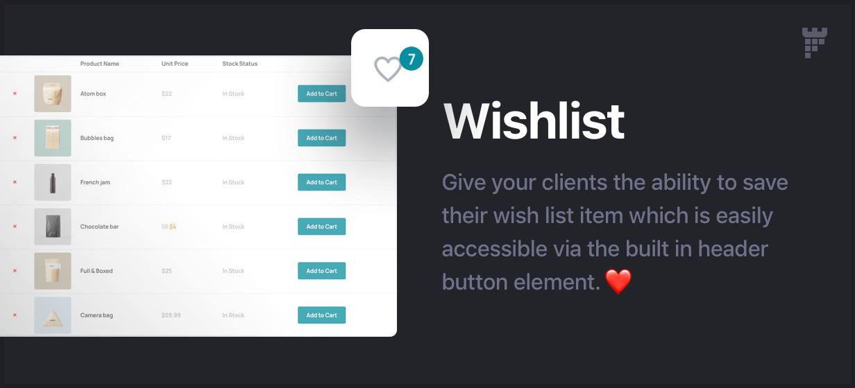 wishlist - Essentials | Multipurpose WordPress Theme