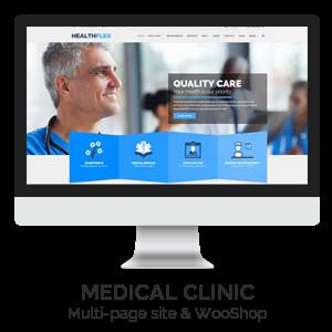 01 MEDICAL CLINIC - HEALTHFLEX - Doctor Medical Clinic & Health WordPress Theme