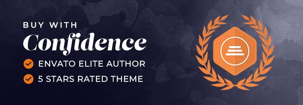 01 buy with confidence - Wiz - Elementor MultiPurpose WordPress Theme