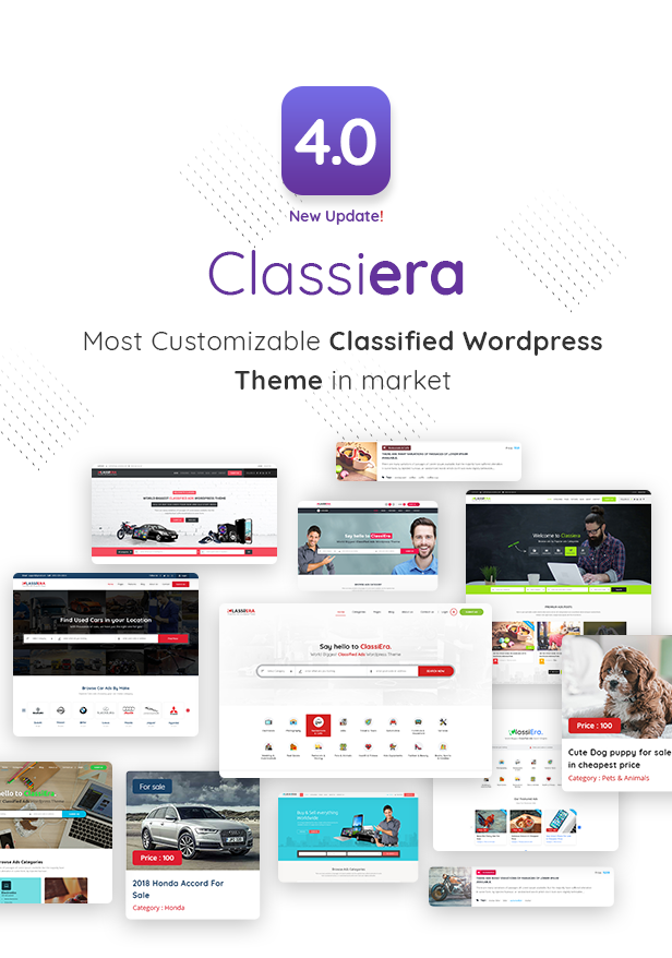 01 intro - Classiera – Classified Ads WordPress Theme