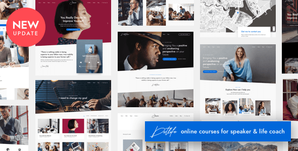 01 cover.  large preview - DotLife | Coach Online Courses WordPress