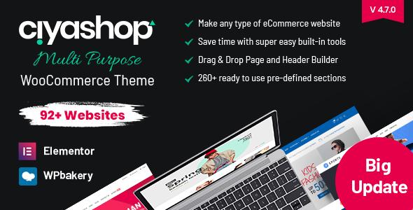 01 preview.  large preview - CiyaShop - Responsive Multi-Purpose WooCommerce WordPress Theme