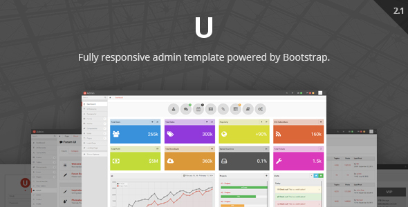01 uadmin preview.  large preview - uAdmin - Responsive Admin Dashboard Template