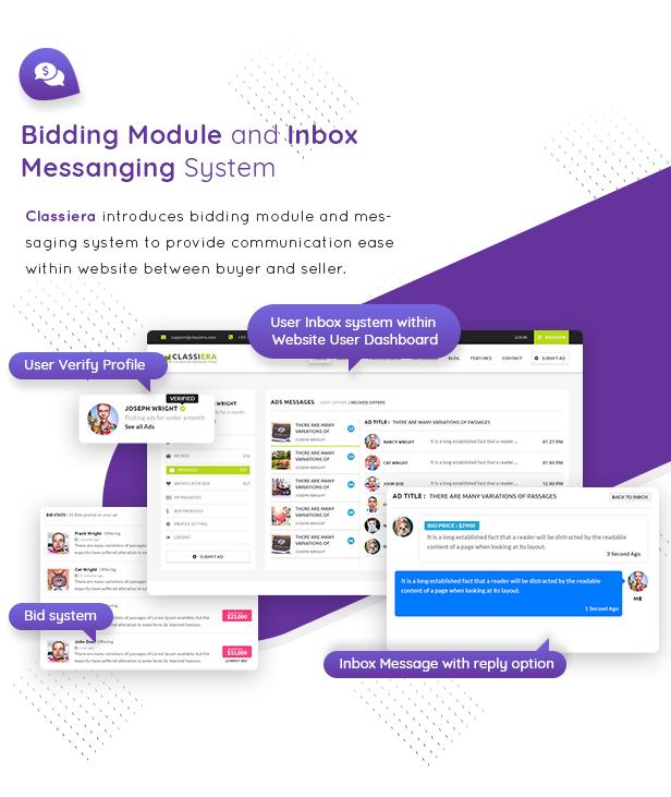 08 bidding system - Classiera – Classified Ads WordPress Theme