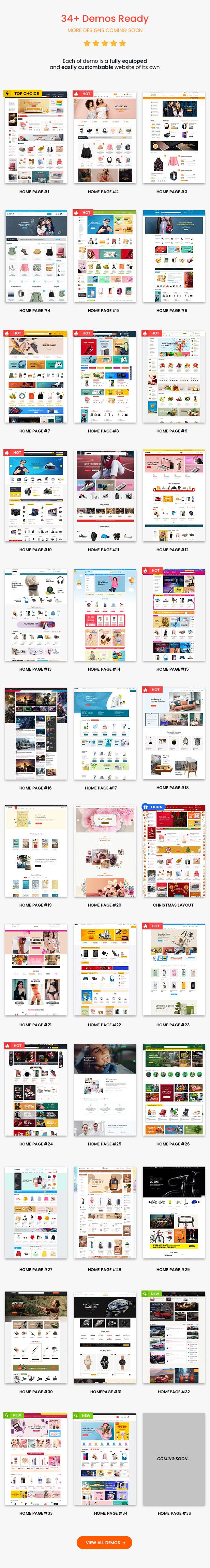 1 emarket multi vendor marketplace elementor woocommerce wordpress theme homepages 460 - eMarket - Multi Vendor MarketPlace Elementor WordPress Theme (34+ Homepages & 3 Mobile Layouts)