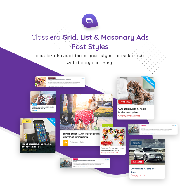 10 post style - Classiera – Classified Ads WordPress Theme