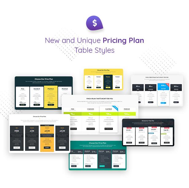 11 pricing plans - Classiera – Classified Ads WordPress Theme