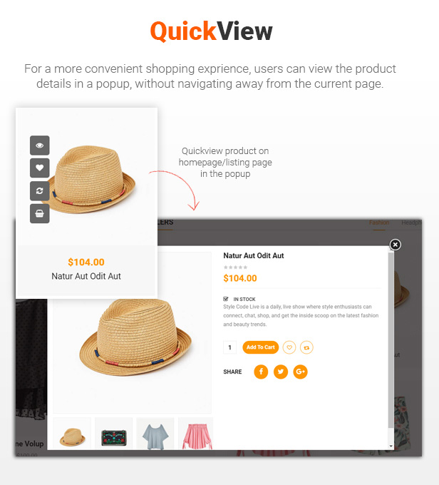 12 Quickview - eMarket - Multi Vendor MarketPlace Elementor WordPress Theme (34+ Homepages & 3 Mobile Layouts)