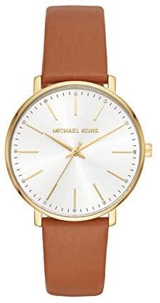 1622585663 31K5MM6UGSL. AC  - Michael Kors Pyper Three-Hand Stainless Steel Watch