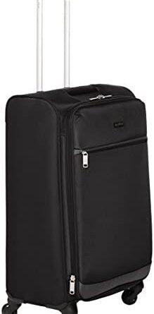 1622715487 31HTB z88XL. AC  219x445 - Amazon Basics Softside Spinner Luggage Suitcase - 30.9 Inch, Black