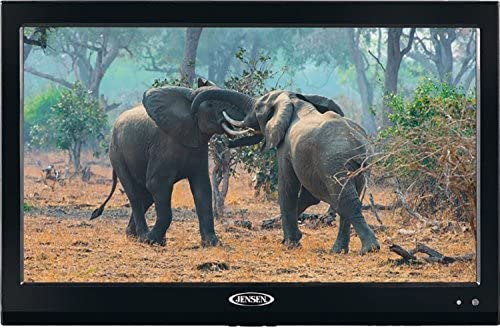 1622802019 51PzmXdwVwL. AC  - Jensen JTV19DC HD Ready 19 Inch 12V DC RV LED TV with Integrated HDTV (ATSC) Tuner, HD Ready (1080p, 720p, 480p), 1366 x 768 Full HD, Dual Function Wireless Remote Control, Black