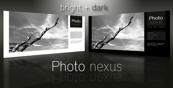 1 preview.  large preview - Photo Nexus | WordPress Theme