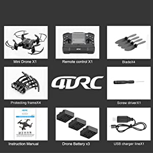 1b66ad44 62be 4fa0 a382 9c738dd17834.  CR0,0,1000,1000 PT0 SX300 V1    - 4DRC V2 Foldable Mini Nano Drone for Kids Beginners Gift,Pocket RC Quadcopter with 3 Batteries,Altitude Hold, Headless Mode, 3D Flips, One Key Return, 3 Speed Modes, Easy Fly for Beginners Boys Girls